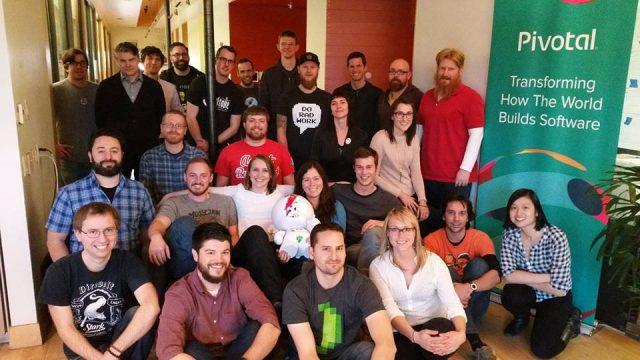 Pivotal Team Photo
