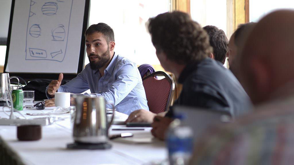 UpRamp Team Meeting Photo