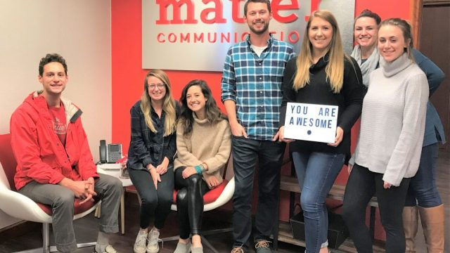 Matter Communications Team Photo
