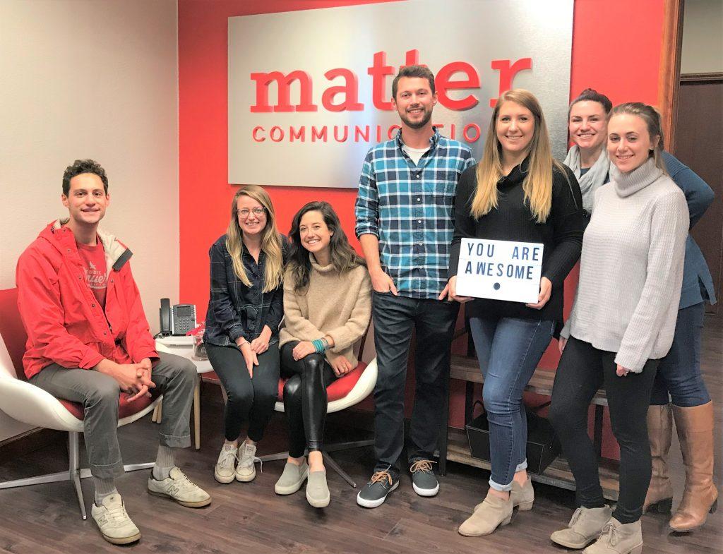 Matter Communications Team Photo