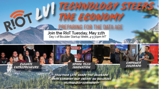 Technology Steers the Economy sponsored by RioT